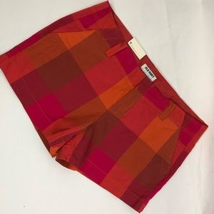 NWT old navy Plaid multicolored shorts
